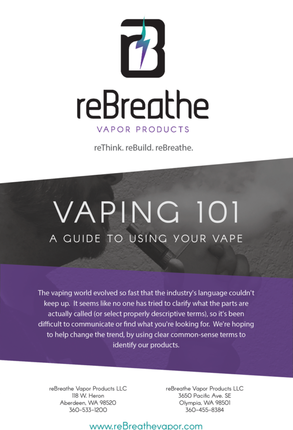 reBreathe Vapor Vaping Guide