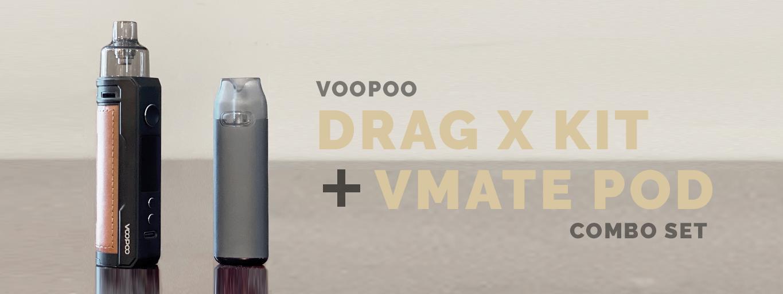 VOOPOO DRAG X VMATE